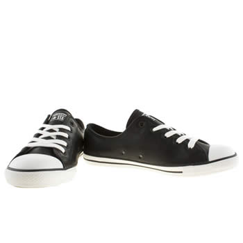 converse dainty leather