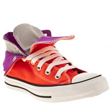 Orange Converse All Star Two Fold Hi Iii