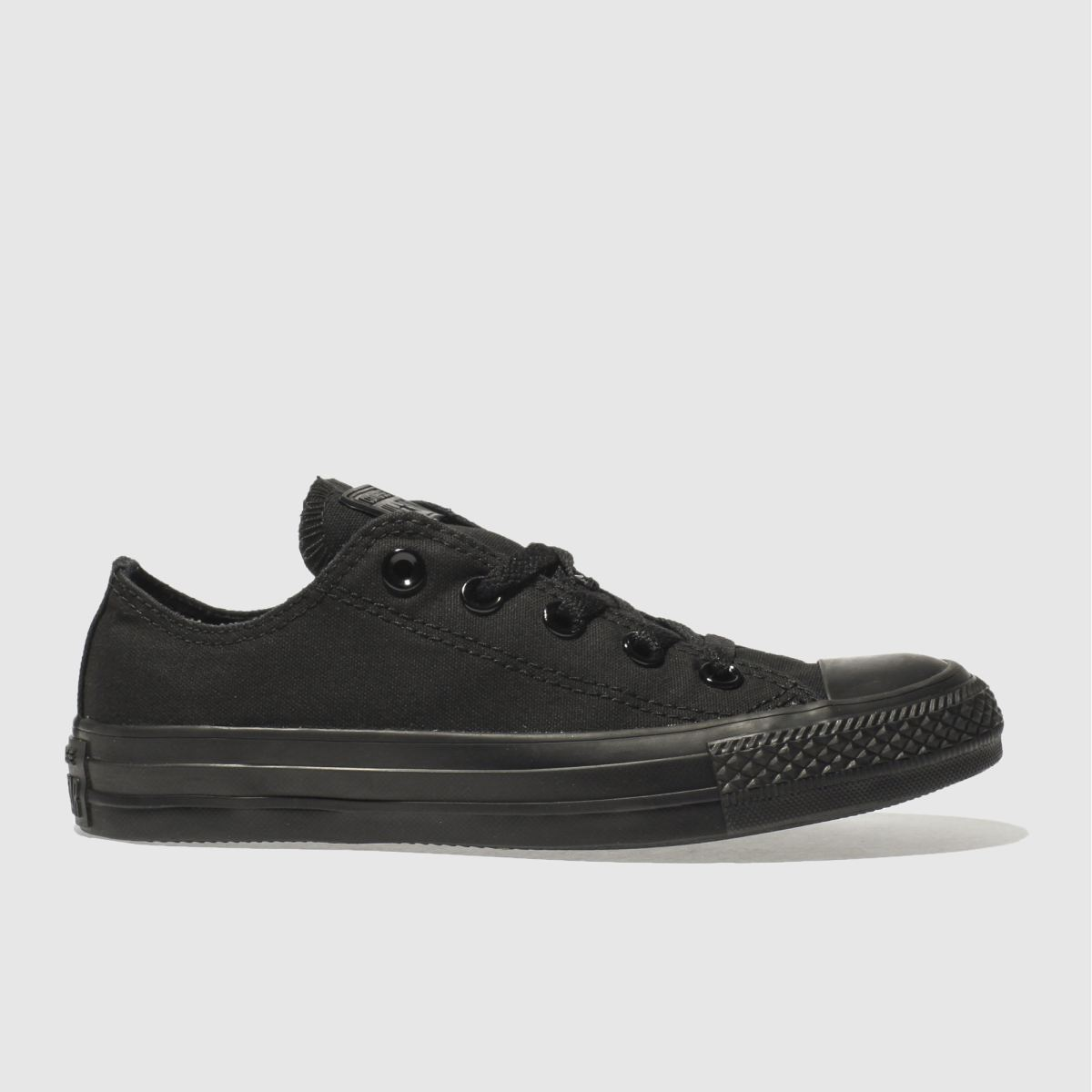Converse Black All Star Oxford Mono Trainers