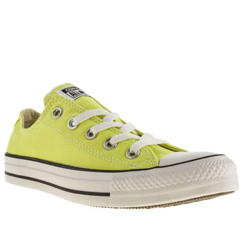 womens converse lemon all star ox vi trainers