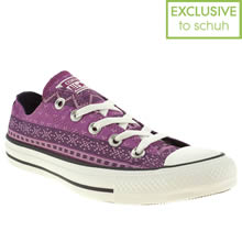 Purple Converse All Star Ox Vi Wilderness