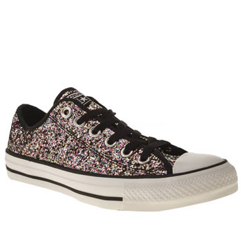Womens Converse Multi All Star Ox Vi Glitter Trainers