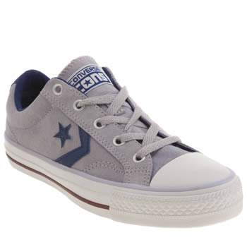 Womens Converse Lilac Star Player Ev Oxford Trainers