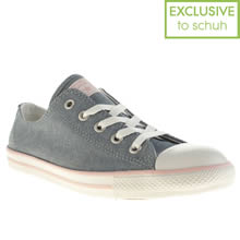 Pale Blue Converse All Star Dainty Ox Ii