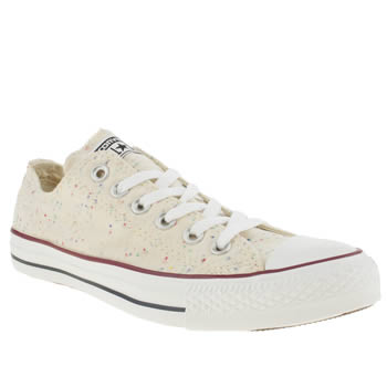 Converse Stone All Star Ox Speckled Jersey Trainers