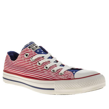 Converse Multi All Star Oxford Stars N Bars Trainers