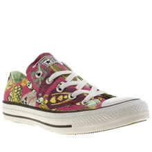 converse all star ox vii feather skull 1