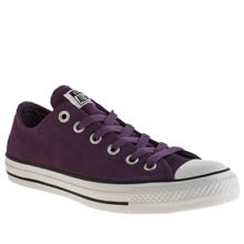 Purple Converse All Star Oxford Suede