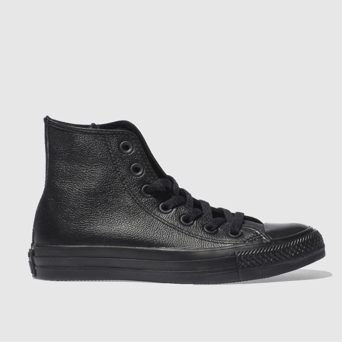 Converse Black Hi Vi Leather Trainers