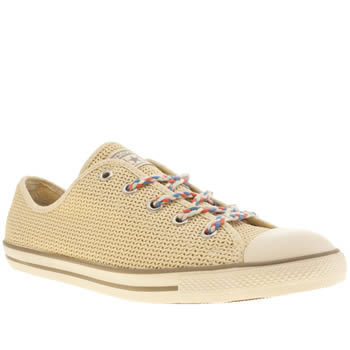 womens converse natural all star dainty summer ox trainers