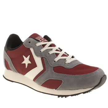 Womens Converse Red Auckland Racer Trainers