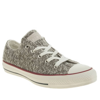 Converse Grey All Star Winter Knit Trainers