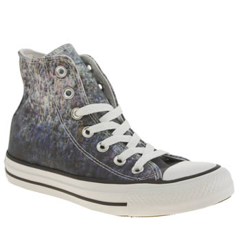 Womens Converse Blue Streaming Color Hi Trainers