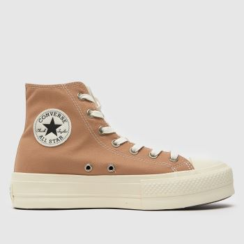 Womens Converse Multi All Star Basket Weave Hi Trainers