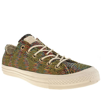 Converse Multi All Star Basket Weave Oxford Trainers
