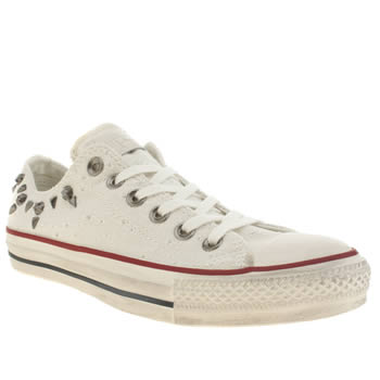 Converse Stone All Star Bars&stars Hardware Trainers