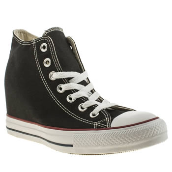 Converse Black & White All Star Lux Canvas Trainers