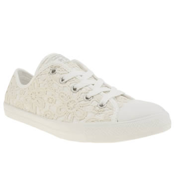 Converse Stone All Star Dainty Lace Ox Trainers