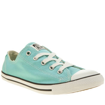 Womens Converse Turquoise All Star Dainty Oxford Trainers