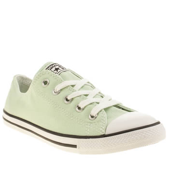 Converse Light Green All Star Dainty Oxford Trainers