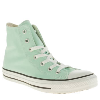 Converse Turquoise All Star Canvas Hi Trainers