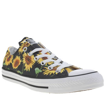 Converse Yellow All Star Sunflower Ox Trainers