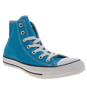 Converse Turquoise All Star Hi Trainers