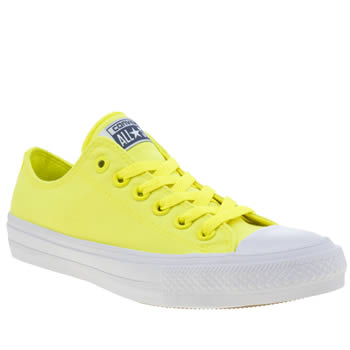 Converse Yellow Chuck Taylor All Star Ii Neon Trainers