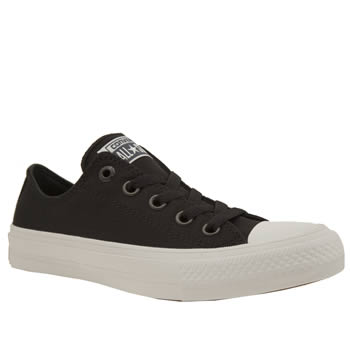 Converse Black & White Chuck Taylor All Star Ii Ox Womens Trainers