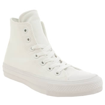 Converse White Chuck Taylor All Star Ii Hi Trainers