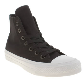 Converse Black & White Chuck Taylor All Star Ii Hi Womens Trainers