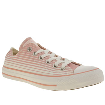 Converse Peach All Star Oxford Trainers