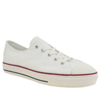 Converse White All Star High Line Peached Ox Trainers