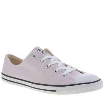 Converse Pale Pink As Dainty Ox Trainers