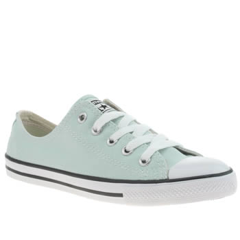 Converse Turquoise As Dainty Ox Trainers