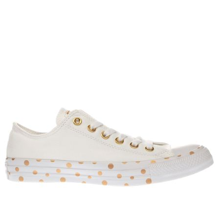 converse all star polka dot ox 1