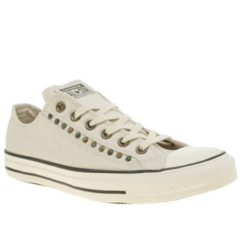 Converse Stone Eyerow Cutout Hardware Ox Trainers