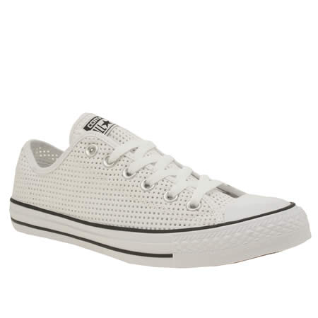 converse all star perforated canvas ox 1