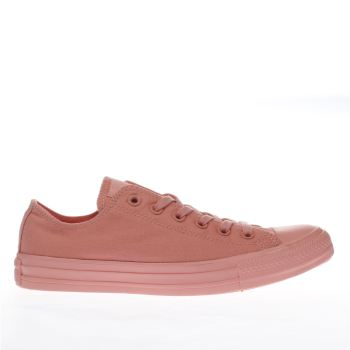 Converse Pale Pink All Star Pastel Mono Ox Trainers