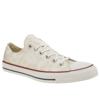 Converse White All Star Sheenwash Ox Trainers