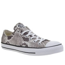 Converse Stone All Star Snake Ox Womens Trainers