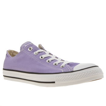 Converse Purple All Star Ox Womens Trainers