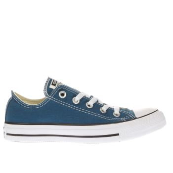 CONVERSE BLUE ALL STAR OX TRAINERS