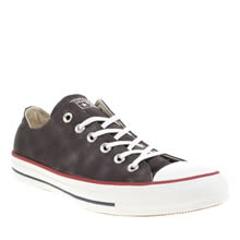 Converse Black All Star Sheenwash Ox Womens Trainers