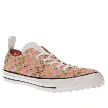 CONVERSE MULTI ALL STAR OX MISSONI TRAINERS