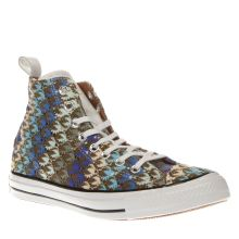 Converse Multi All Star Missoni Hi Womens Trainers