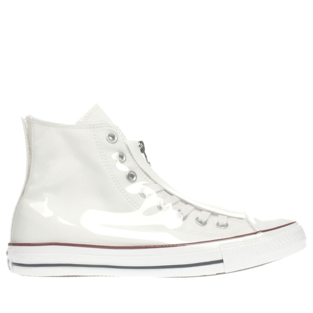 converse white shroud translucent hi trainers