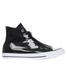 Converse Black & White Shroud Translucent Hi Trainers
