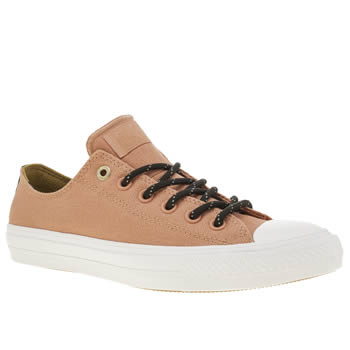 Converse Peach Chuck Taylor Ii Shield Ox Womens Trainers