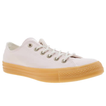 Converse Pale Pink All Star Gum Ox Womens Trainers